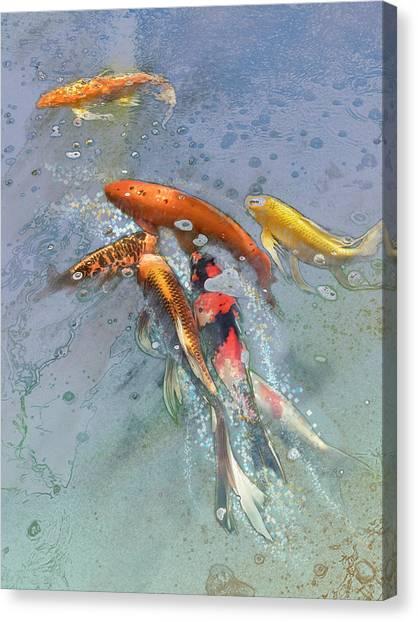Nishikigoi Canvas Print