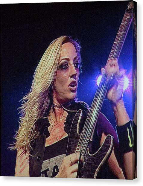 Nita Strauss Canvas Print