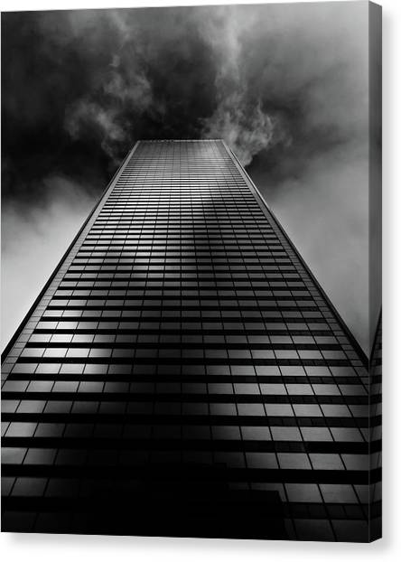No 100 King St W Toronto Canada 1 Canvas Print