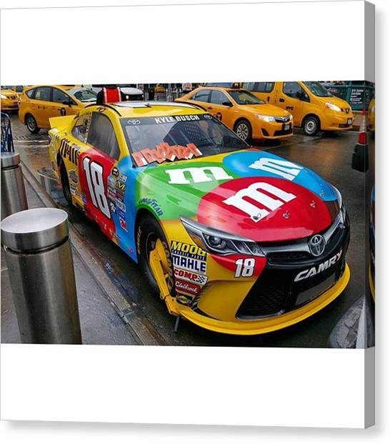 Racecar Drivers Canvas Print - No #car Above #tickets Or Getting A by Crook Bladez