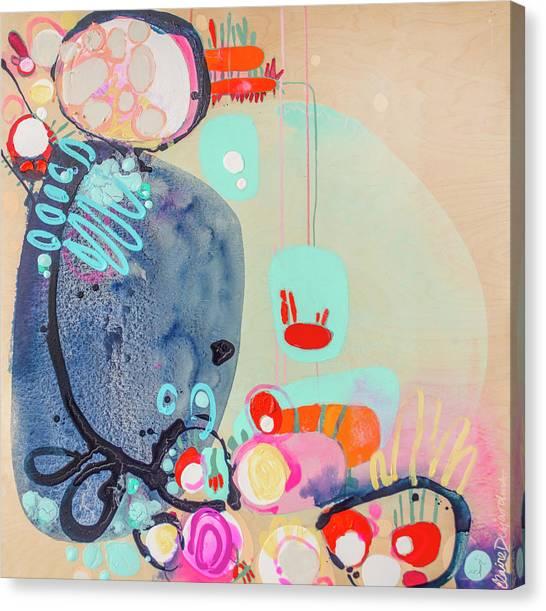 Canvas Print - No Dog Days Ahead by Claire Desjardins