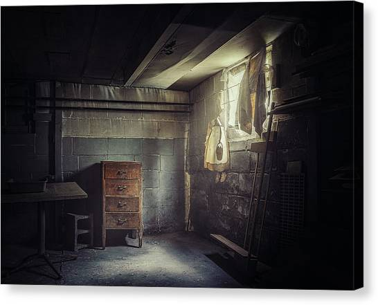 Drawers Canvas Print - No Escape by Scott Norris