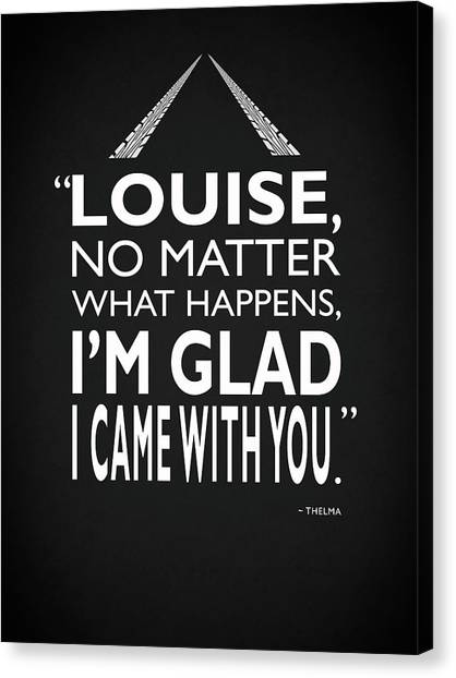 Susan Canvas Print - No Matter What Happens by Mark Rogan