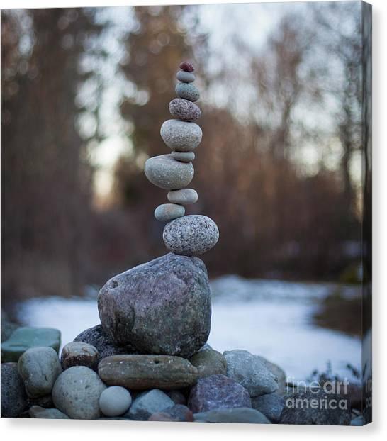 Zen Stack #3 Canvas Print