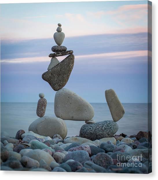 Zen Stack #7 Canvas Print