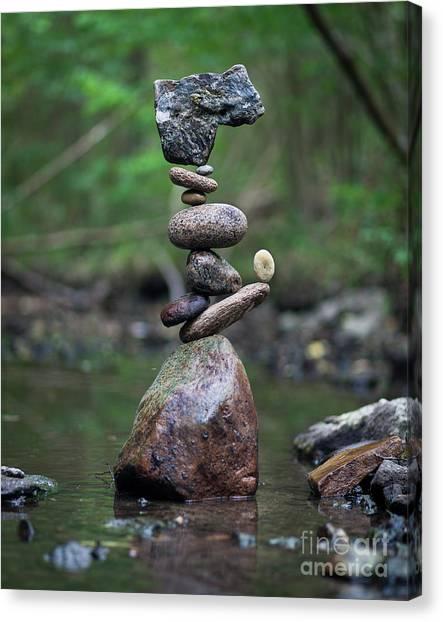 Zen Stack #8 Canvas Print