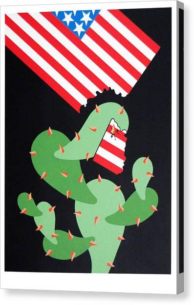 No Pasaran Canvas Print by Julio Eloy Mesa