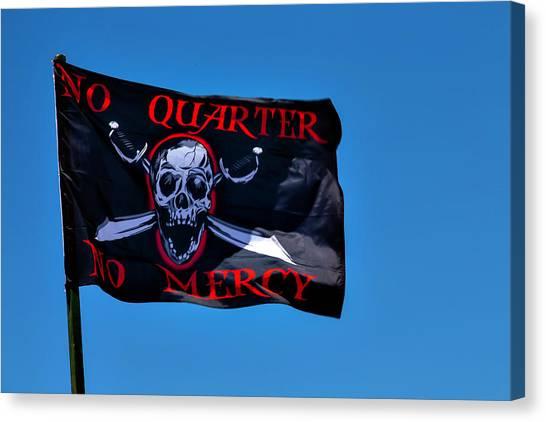Mercy Canvas Print - No Quarter No Mercy by Garry Gay