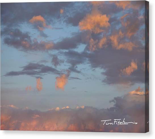 No Tears In Heaven Canvas Print