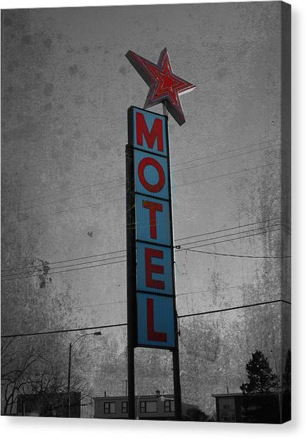 No Tell Motel Canvas Print