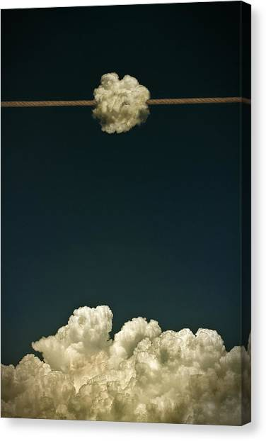 Rope Canvas Print - No Title by Mister Solo