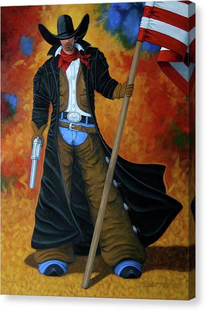 Lance Headlee Canvas Print - No Trespassing by Lance Headlee