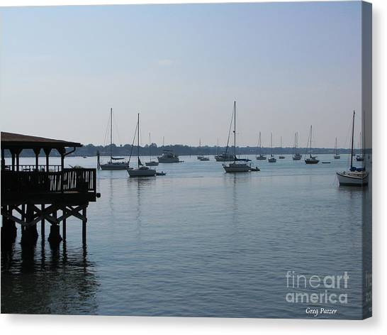No Wind Canvas Print by Greg Patzer