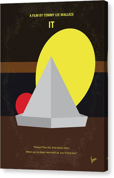 Kings Canvas Print - No043 My It Minimal Movie Poster by Chungkong Art