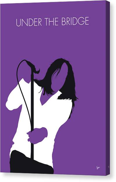 Fleas Canvas Print - No081 My Red Hot Chilli Pepers Minimal Music Poster by Chungkong Art