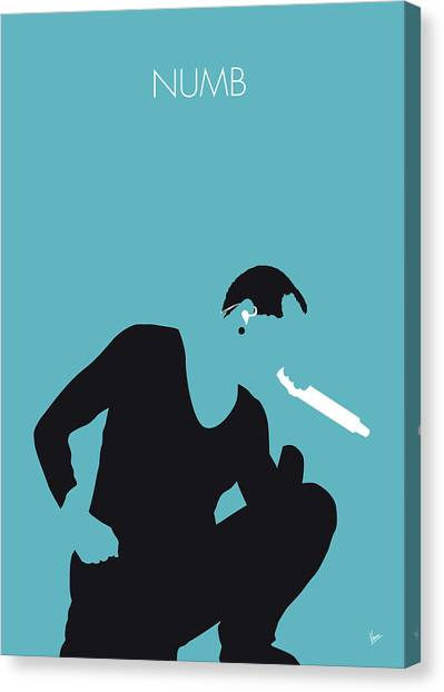 Jay Z Canvas Print - No085 My Linking Park Minimal Music Poster by Chungkong Art