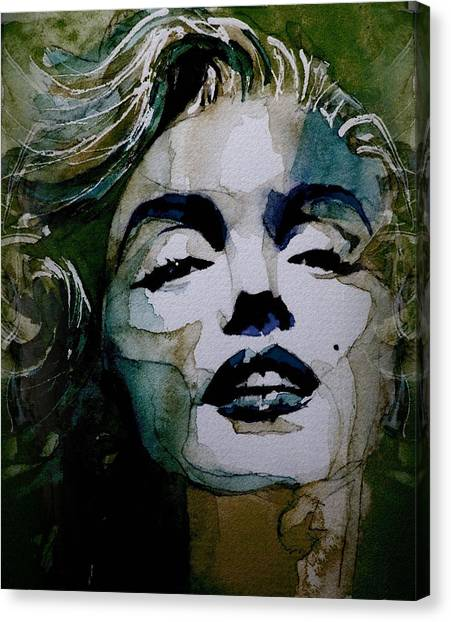 Blondes Canvas Print - No10 Larger Marilyn  by Paul Lovering