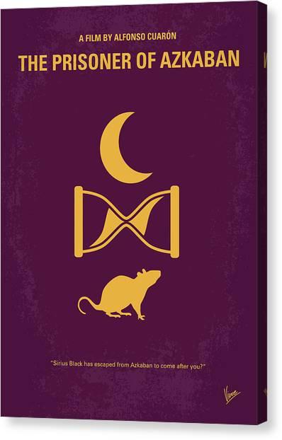 Harry Potter Canvas Print - No101-3 My Hp - Prisoner Of Azkaban Minimal Movie Poster by Chungkong Art