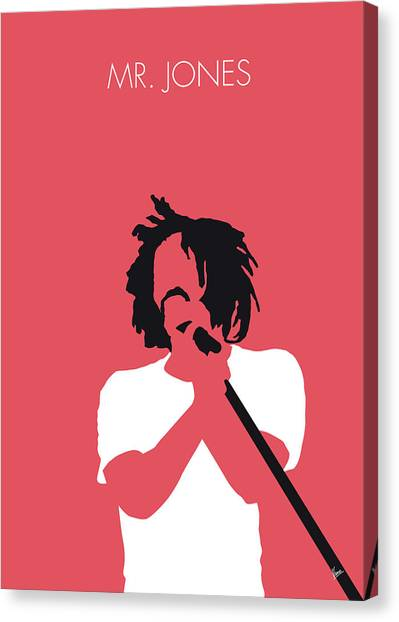 Crows Canvas Print - No102 My Counting Crows Minimal Music Poster by Chungkong Art