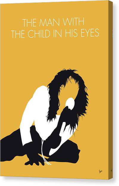 Bush Canvas Print - No104 My Kate Bush Minimal Music Poster by Chungkong Art