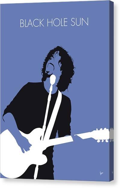 Sun Canvas Print - No138 My Soundgarden Minimal Music Poster by Chungkong Art