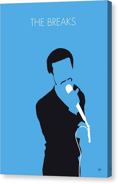 Hip Hop Canvas Print - No139 My Kurtis Blow Minimal Music Poster by Chungkong Art