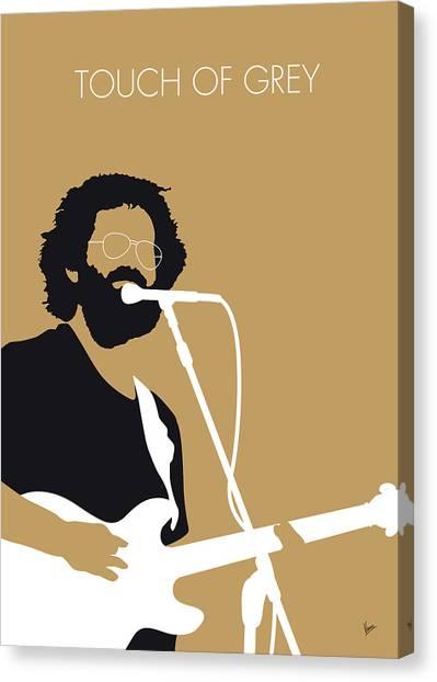 Grateful Dead Canvas Print - No140 My Grateful Dead Minimal Music Poster by Chungkong Art