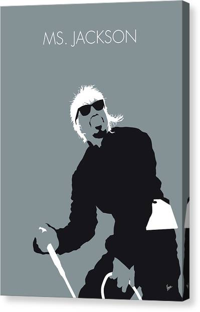 Hips Canvas Print - No167 My Outkast Minimal Music Poster by Chungkong Art