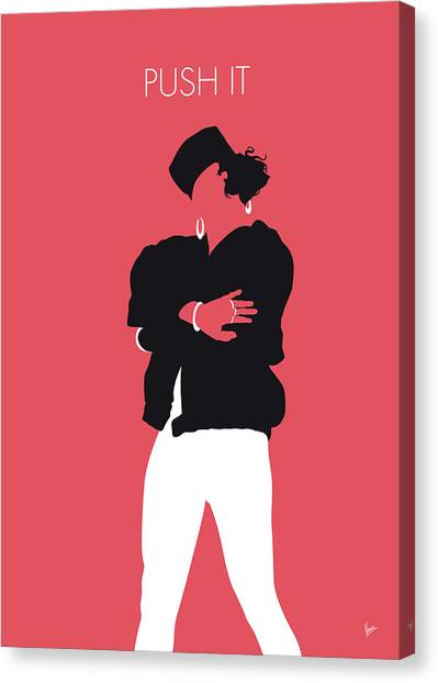 Hip Hop Canvas Print - No192 My Saltnpepa Minimal Music Poster by Chungkong Art