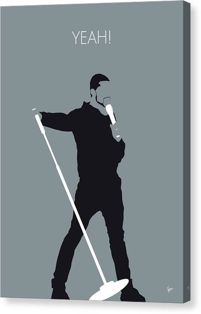 Confession Canvas Print - No207 My Usher Minimal Music Poster by Chungkong Art