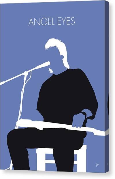 See Canvas Print - No208 My Jeff Healey Minimal Music Poster by Chungkong Art