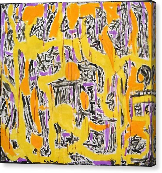 No.343 Canvas Print by Vijayan Kannampilly