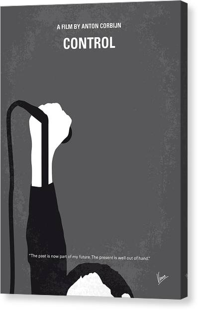 Punk Canvas Print - No508 My Controle Minimal Movie Poster by Chungkong Art