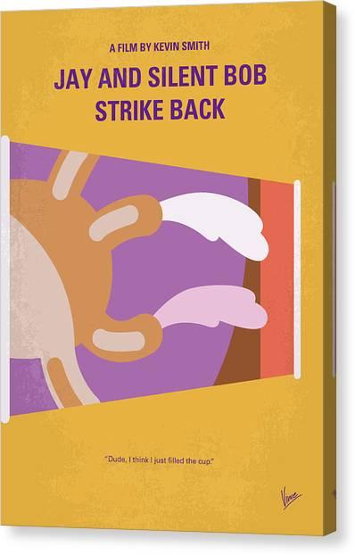 Chronic Canvas Print - No889 My Jay And Silent Bob Strike Back Minimal Movie Poster by Chungkong Art