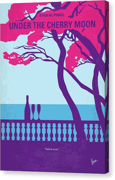 Prince Canvas Print - No933 My Under The Cherry Moon Minimal Movie Poster by Chungkong Art