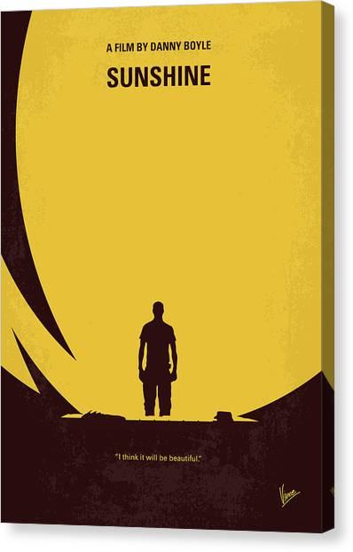 Mission Canvas Print - No947 My Sunshine Minimal Movie Poster by Chungkong Art