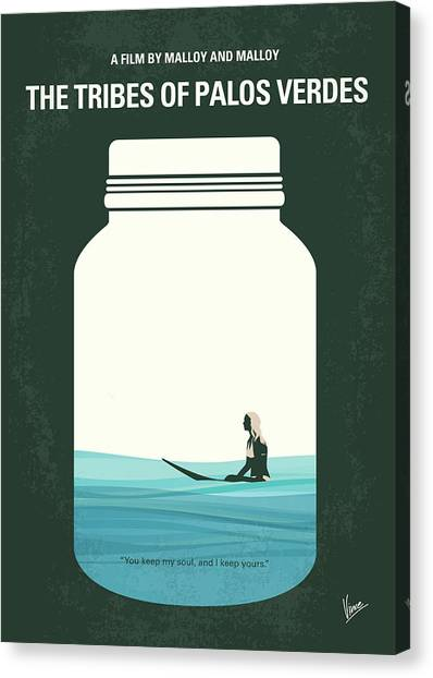 Verde Canvas Print - No957 My The Tribes Of Palos Verdes Minimal Movie Poster by Chungkong Art