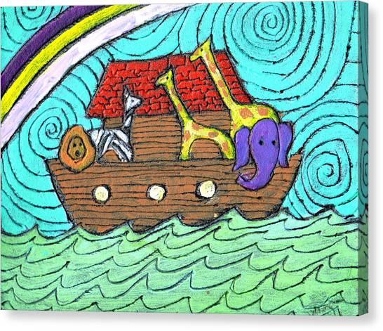 Noahs Ark Two Canvas Print