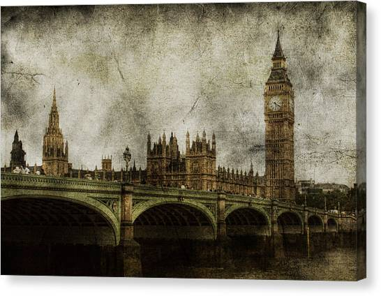 London Canvas Print - Noble Attributes by Andrew Paranavitana