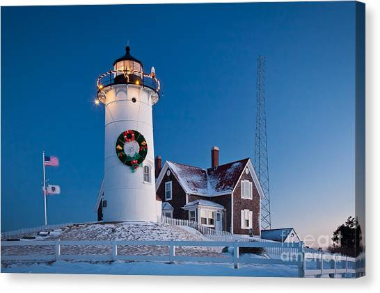 Nobska Light Canvas Print