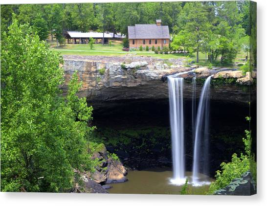 Noccolula Falls Gadsden Alabama Canvas Print