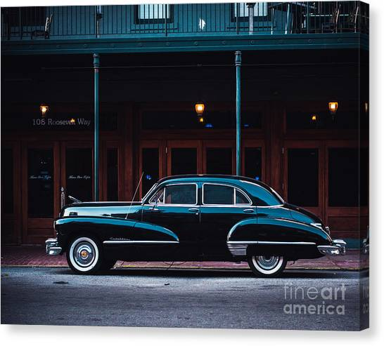 Automobiles Canvas Print - Nola Caddie by Sonja Quintero