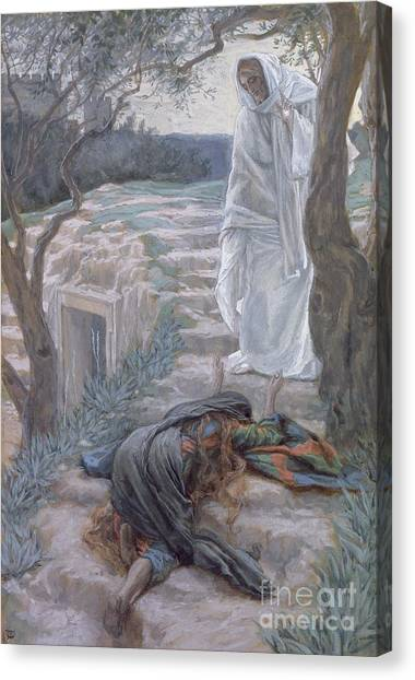 Apparition Canvas Print - Noli Me Tangere by Tissot