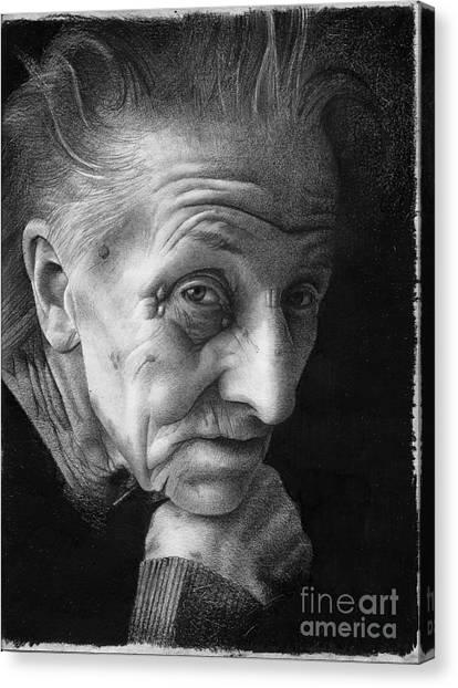 Nonna Canvas Print by David Vanderpool
