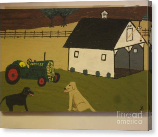 Canvas Print - Nook And Brutus by Jeffrey Koss