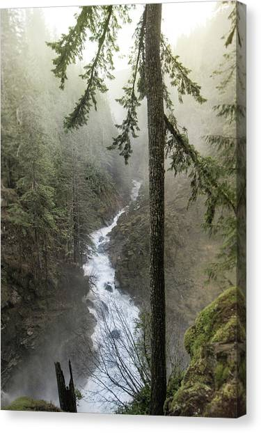 Wonderful Waterfall Canvas Print