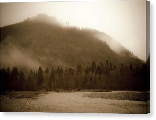 Noosack Fog Canvas Print