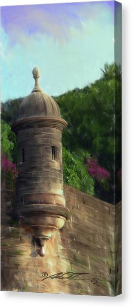 Norma's Pr Tower Canvas Print