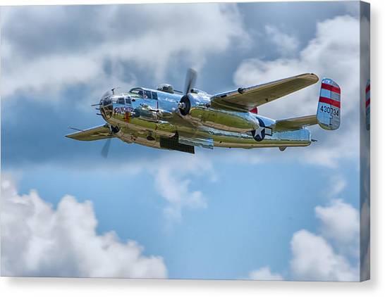 North American B-25 Mitchell Canvas Print