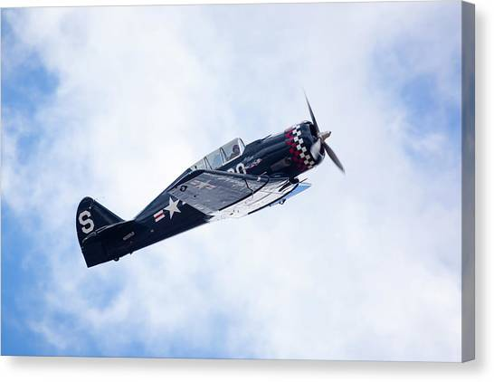 North American Na-50 Canvas Print by Brian Knott Photography